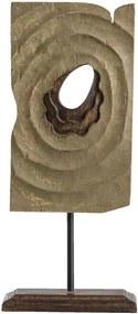 Beeld Eros - bruin - 32x14x9 cm - Leen Bakker