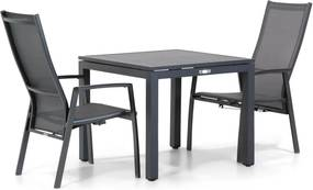 Lifestyle Lancaster/Concept 90cm dining tuinset 3-delig