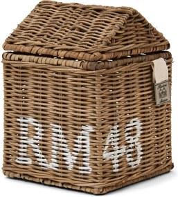 Rivièra Maison - Rustic Rattan RM 48 Tissue Box - Kleur: naturel