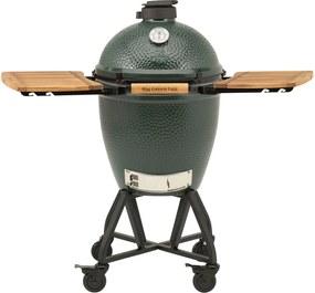 Big Green Egg Medium kamado houtskoolbarbecue met onderstel en accessoires 4-delig