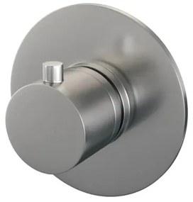Brauer Brushed Edition inbouwdouchekraan thermostatisch met inbouwdeel geborsteld nikkel PVD 5-NG-018RR
