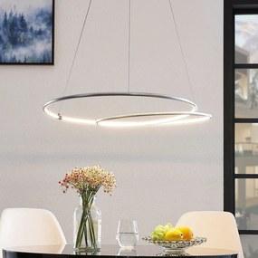 Lucy LED hanglamp, 70 cm, aluminium - lampen-24