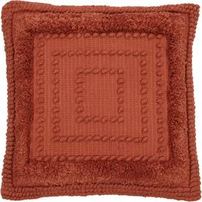 Rivièra Maison - Desert Boho Pillow Cover - Kleur: rood