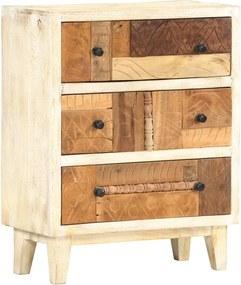 Bijzetkast 60x30x75 cm massief gerecycled hout