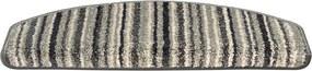 Trapmaantje Relax Antraciet Stripe - 25 x 65 cm