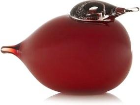 iittala Pluizenbol vogel van glas 5 cm