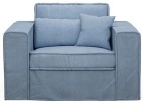 Rivièra Maison - Metropolis Love Seat, washed cotton, ice blue - Kleur: blauw