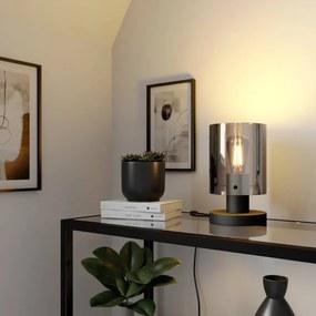 Kourtney tafellamp met glazen kap - lampen-24