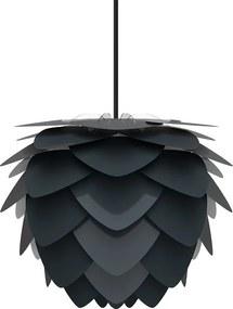 Aluvia Mini Ø 40 cm - Hanglamp antraciet - Koordset zwart