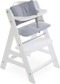 Highchair Pad Deluxe - Stretch Grey - Kinderstoelen