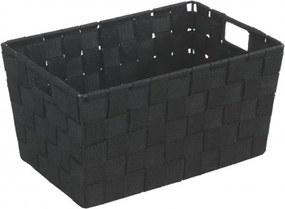 Wenko Adria Korf 15x20x30cm small polypropyleen zwart 19878100