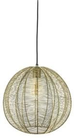 By-Boo Floss Ronde Hanglamp Metaaldraad Brons 35 Cm