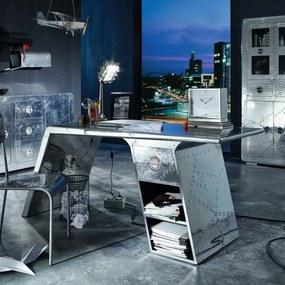 Aluminium Design Bureau - 175 X 60cm.