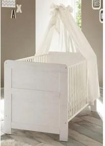 Babyledikantje passend bij meubelserie »Landhuis«, imitatie-pine/wit