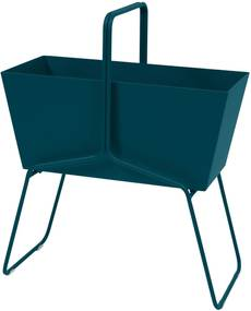 Fermob Basket plantenbak high Acapulco Blue