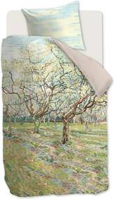 Beddinghouse Orchard dekbedovertrekset van katoensatijn 220TC - inclusief kussenslopen