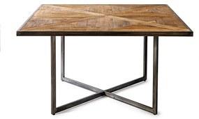 Rivièra Maison - Le Bar American Dining Table 140 cm - Kleur: grijs