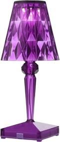 Battery tafellamp LED paars