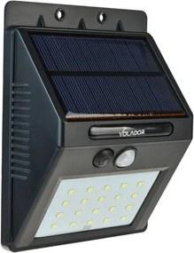 LED Buitenwandlamp Op Zonne-Energie Met Sensor