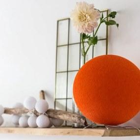 Staande Cottonball - Orange - dia 31cm