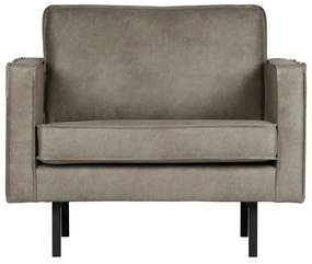 BePureHome Rodeo Loveseat Fauteuil Elephant Skin