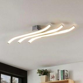 LED plafondlamp Annays, golvend, dimbaar