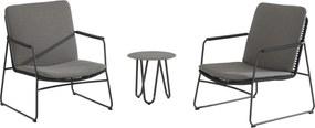 4 Seasons Outdoor Elba/Dali stoel loungeset 3-delig