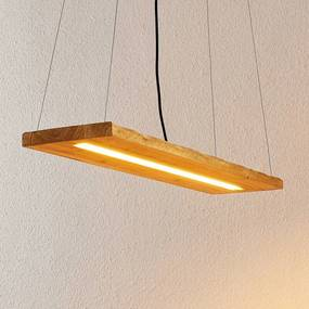 Nesaja houten LED hanglamp - lampen-24