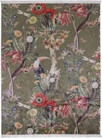 Essenza Airen vloerkleed met botanisch dessin