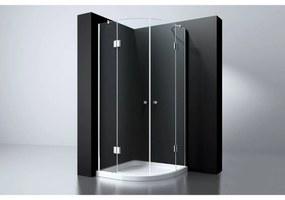 Douchecabine Best Design Erico Kwartrond met Twee Deuren 100x100x192 cm