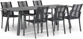 Santika Annisa/Villagio 230 cm dining tuinset 7-delig