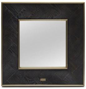 Rivièra Maison - Costa Mesa Mirror 60x60 - Kleur: zwart