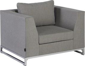 Rhodos lounge tuinstoel - taupe