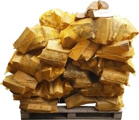 Essenhout - Natuurgedroogd - 25 zakken a 12,5 kg