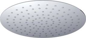 Caral UFO hoofddouche rond 50cm chroom