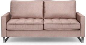 Rivièra Maison - West Houston Sofa 2,5 seater, velvet, blossom - Kleur: roze