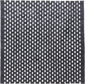 Sealskin Brilliance bidetmat 60x60x0.8cm vierkant Teak Zwart 16290576819