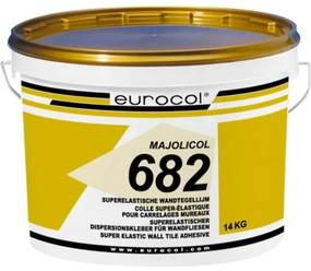 Eurocol Majolicol pasta tegellijm emmer a 14 kg. 6821