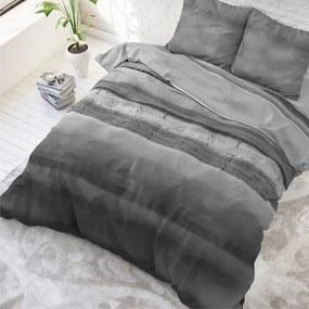 Sleeptime Elegance Marcus - Antraciet 1-persoons (140 x 220 cm + 1 kussensloop) Dekbedovertrek