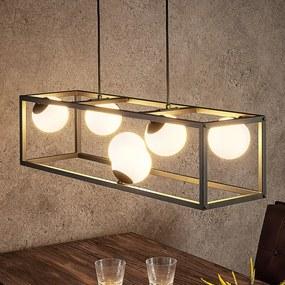 Utopia LED hanglamp, 6-lamps - lampen-24
