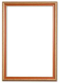 Klassieke Fotolijst 20x25 cm Goud Oranje - Abby