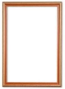 Klassieke Lijst 70x70 cm Goud Oranje - Abby