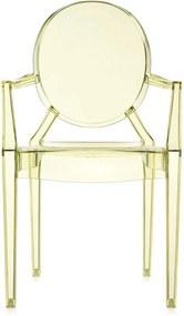 Kartell Louis Ghost stoel geel set van 4