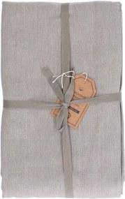Tafelkleed, katoen, olijfgroen gemêleerd, 145 x 300 cm