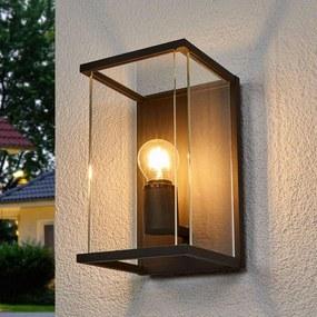 Outdoor wandlamp Annalea met glasscherm en IP54