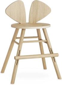 Nofred Nofred Mouse Tall Kinderstoel Gelakt Eiken