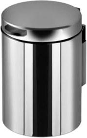 Geesa Economy afvalemmer wandmodel 3L RVS gepolijst 91644