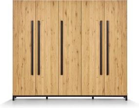 Kast Balance Harmony Metal 5-deurs