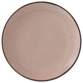 Dinerbord Emma - 25 cm - roze