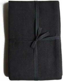 Tafelkleed, katoen, donkergrijs, Ø 180 cm